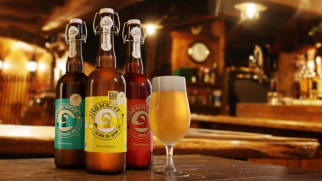 packshot 3D bouteille de bière