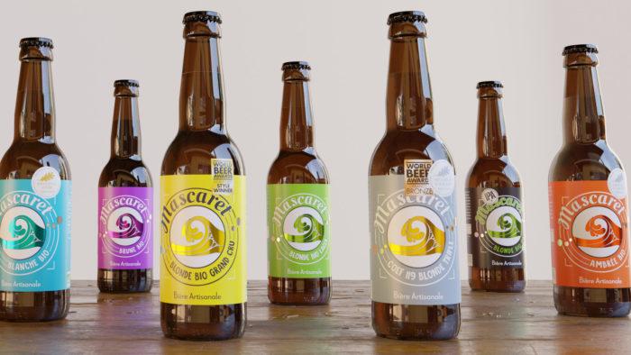bière étiquette