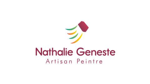 Logo Nathalie Geneste artisan peintre