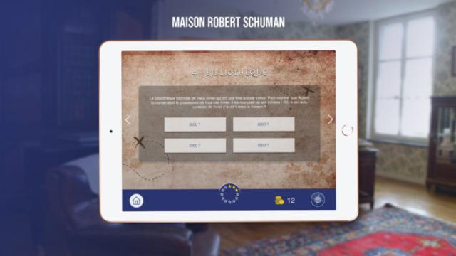 jeu app application ipad ios Unity quizz game UI